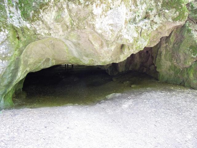 Zadní vchod do Čertovy pece
