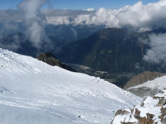Mont Blanc ( Monte Bianco) Řijen
