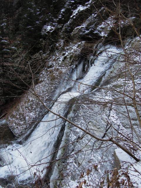 Dolní stupeň vodopádů