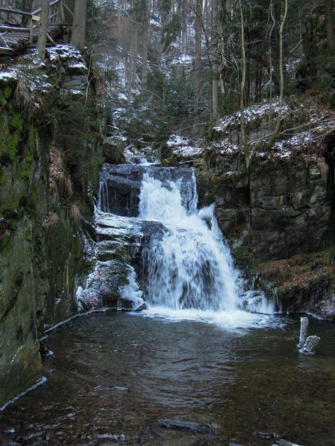 Horní stupeň vodopádů