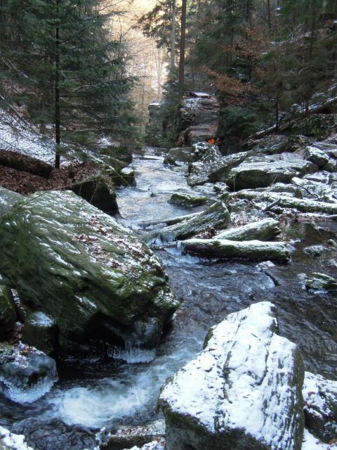 Huntava nad vodopády