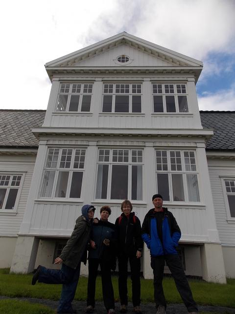 Reykjavik - vila Hofn: Místo podpisu o ukončení  studené války