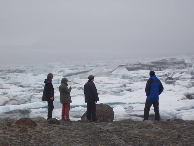 Jokulsarlon - ledovcová zátoka