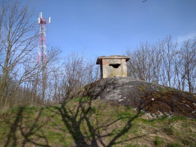 1 - Pozorovací srub - Nad Hájem