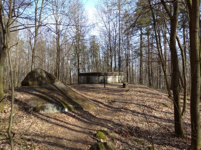 2 - Dělostřelecký srub - V lese