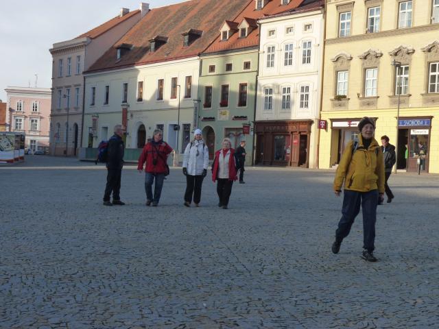 Procházka po Horním  náměstí.